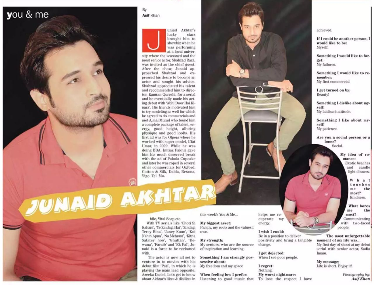 Junaid Akhter Interview in TheNews