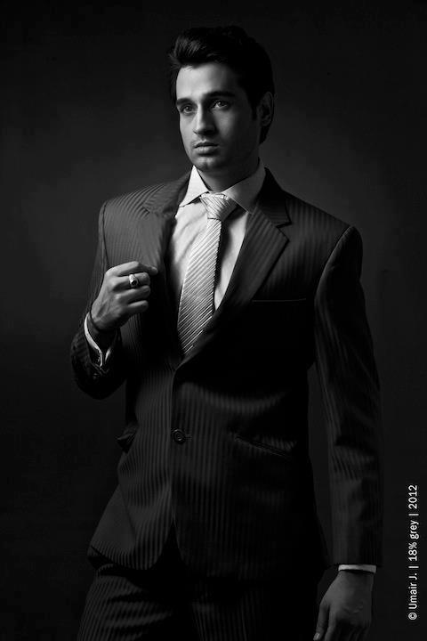 Junaid Akhter in Corporate Look